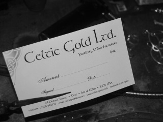 Celtic Gold Vouchers