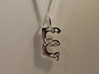 Manx Pendant Sterling Silver 925 Hallmark Isle of Man Necklace All Chain Lengths