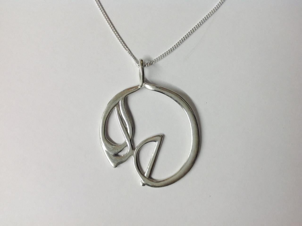 Large silver pendant pendants celtic gold large silver pendant aloadofball Gallery