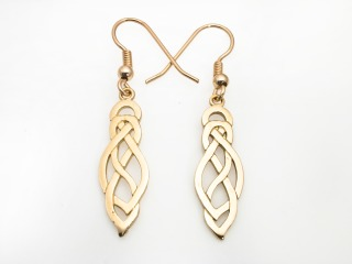 Celtic earrings - earring 296h