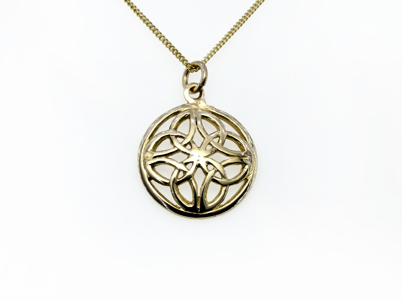 Open work celtic pendant silver pendant162 pendants celtic gold open work celtic pendant mozeypictures Gallery